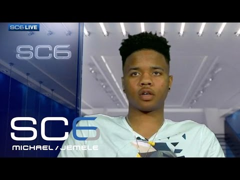 Markelle Fultz On Playing Against Lonzo Ball In NBA | SC6 | April 26, 2017