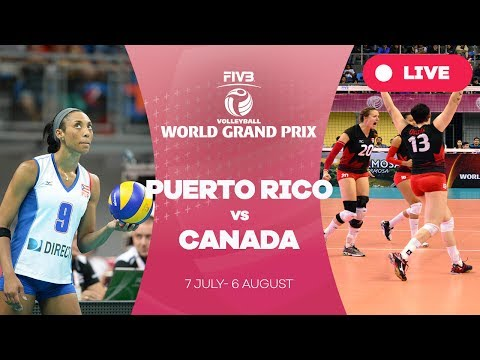 Puerto Rico v Canada - Group 2: 2017 FIVB Volleyball World Grand Prix