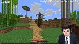 GeorgeNotFound | Minecraft Challenges For Money (I'm a Business Man) | VOD