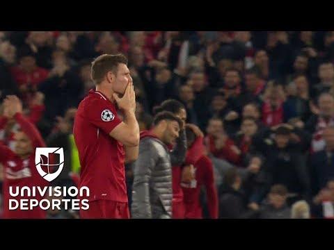 """¡Qué momento! Anfield Road explotó con el """"You'll Never Walk Alone"""""""