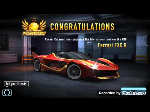 CSR RACING How To Win Nitros Ferrari FXX K