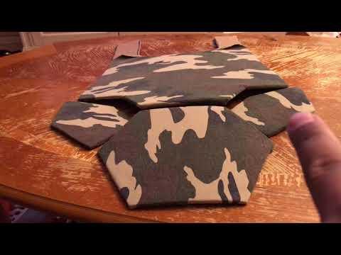 Tactical vest camo air soft DIY part 1