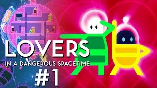 Thumbnail für Lovers in a Dangerous Spacetime