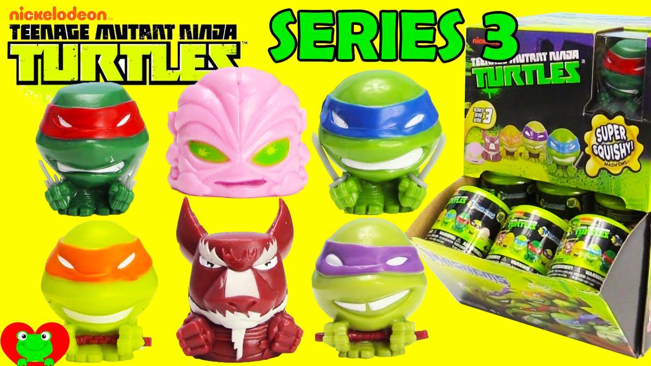 Teenage Mutant Ninja Turtle Mashems Series 3 Youtube