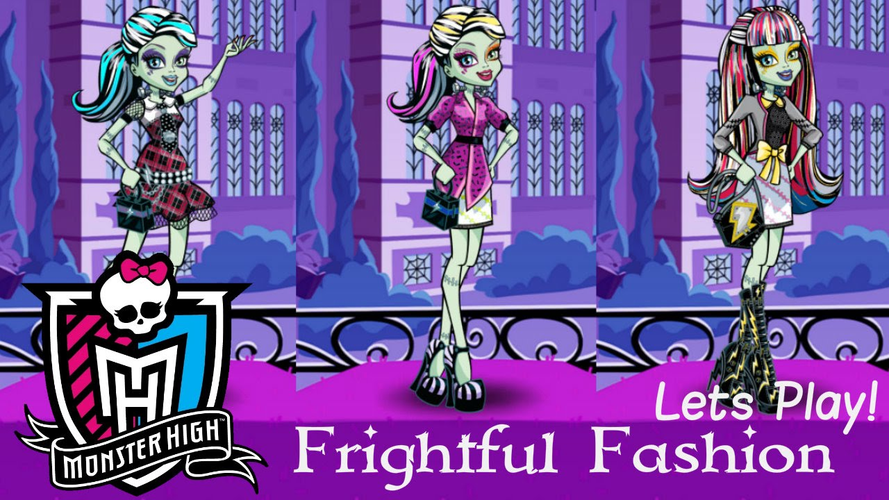 Monster High Frightful Fashion App Game Lets Play App Games Dolls Toys Apps 1 Youtube