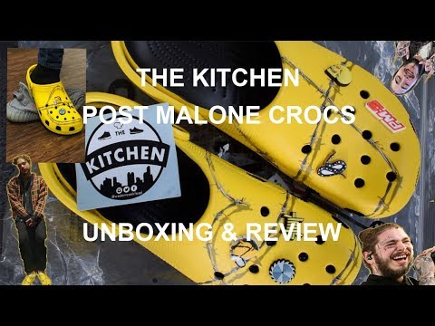 POST MALONE CROCS KILLED YEEZY? | REVIEW & UNBOXING | @wedontcookfood | The Kitchen Mp3