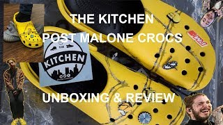 Post Malone Crocs Killed Yeezy? | Review & Unboxing | @wedontcookfood | The Kitchen