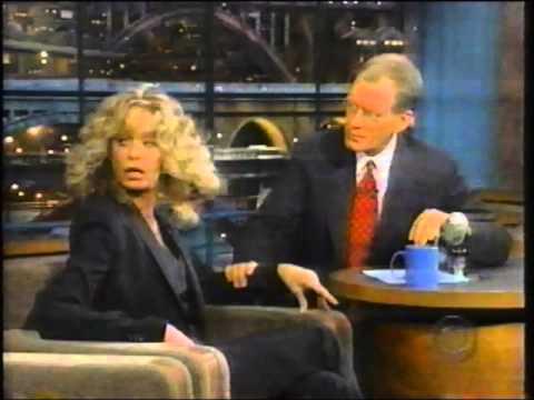Farrah Fawcett On Letterman 1999 YouTube