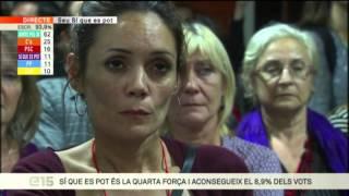 Els innovadors gràfics de la nit electoral a TV3