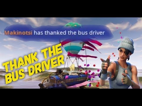 How To Thank The Bus Driver In Fortnite Mobile