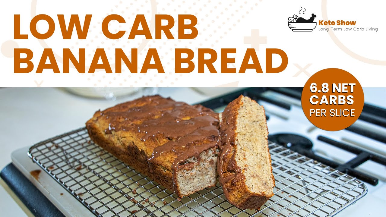Low Carb Banana Bread Recipe