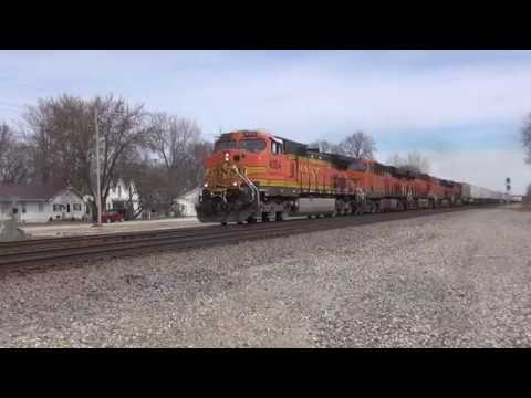 Rail Action East of Kansas City 2/25/2017 Feat. NS 6172 911 BCOL 4649