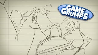 Stegosaurus Waiter - Game Grumps Animated - by Fable Siegel