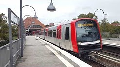 My 1. U-Bahn Video: U-Bahn in Mundsburg(Hamburg)