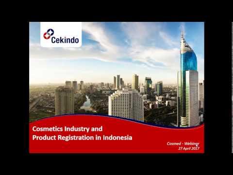 Cosmetics Registration in Indonesia