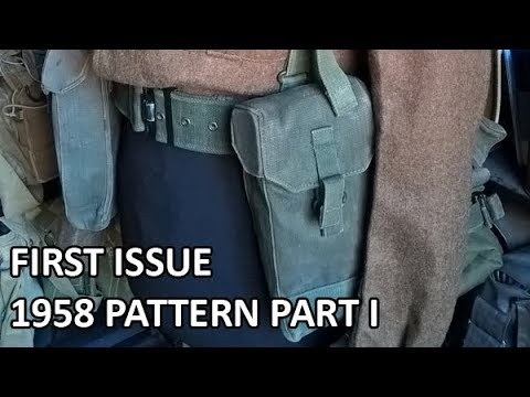 British First Issue 1958 Pattern Web Equipment Part I