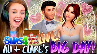connectYoutube - ✨LIVE!!!✨ ALI+CLARE'S BIG DAY?! 👰🤵 (The Sims 4 #50!🏡)