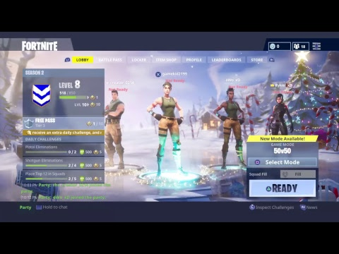 Lets play: Fortnite w/friends