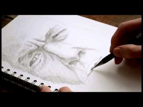 Drawing Gandalf the White