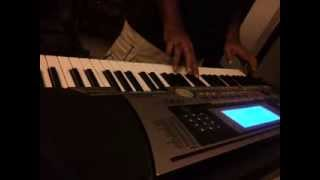 Tumhi Mere Mandir Tumhi Meri Pooja by Niraj Gupta on piano keyboard