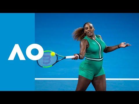 Eugenie Bouchard v Serena Williams match highlights (2R) | Australian Open 2019