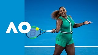 Eugenie Bouchard v Serena Williams match highlights (2R) | Australian Open 2019