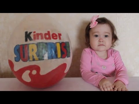 Большой Киндер Сюрприз Май Литл Пони. Обзор игрушек  для девочек. Kinder Surprise My Little Pony
