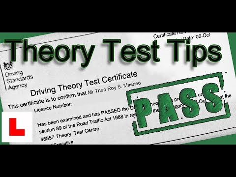 How To Pass Your Driving Theory Test First Time - UK Tips 2019