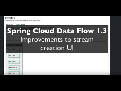 Spring Cloud Data Flow 1 3: Continuous Delivery, Usability