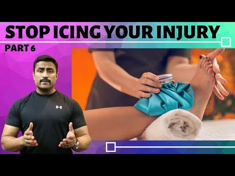STOP ICING YOUR INJURY