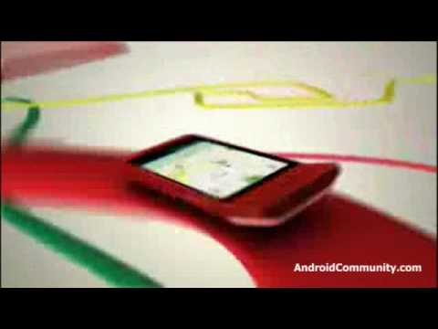 HTC Hero Android UI promotional video