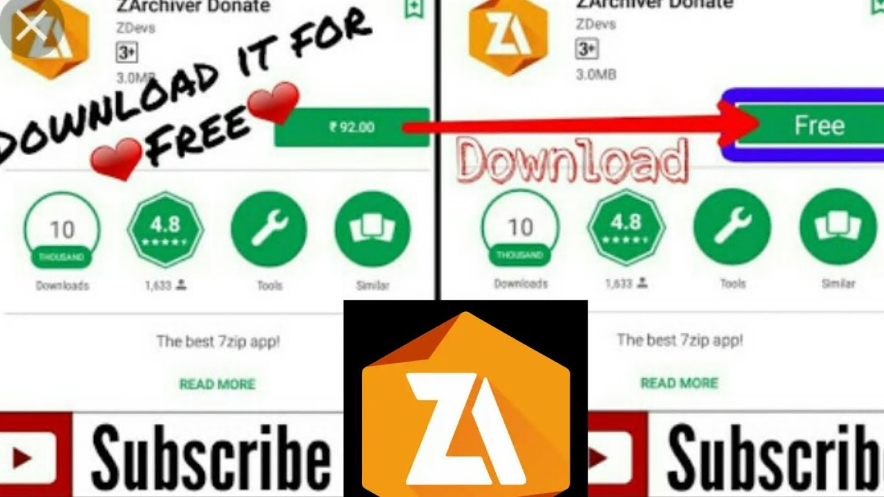ZArchiver Donate 0 9 2 Apk for android