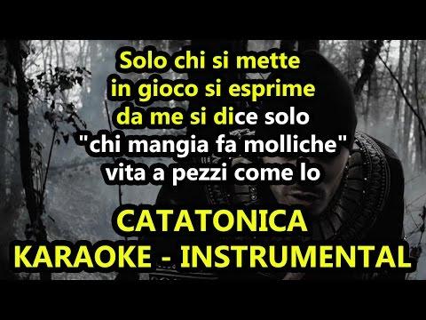 Marracash: CATATONICA (Karaoke - Base instrumental)