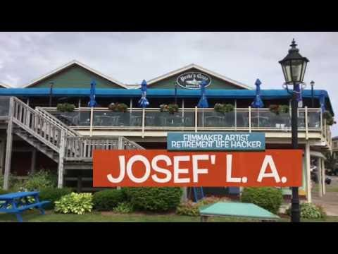 Peake's Quay Restaurant Charlottetown Waterfront Josef' L.A. Five Star Video Review 2016