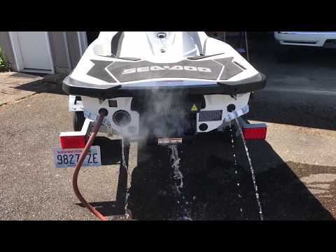RXP-X 300 Riva Thru Hull Exhaust
