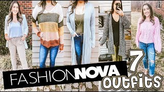 WEARING FASHION NOVA OUTFITS FOR A WEEK | 7 OUTFITS FOR $200!