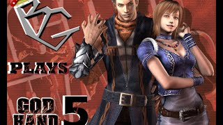 Baron Plays God Hand Part 5 (Boss Fight) - Fat Elvis!