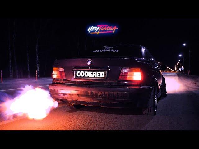 ОГНЕННЫЙ ВЫХЛОП НА BMW - Соседи точно оценят. JZX36 выходит из спячки