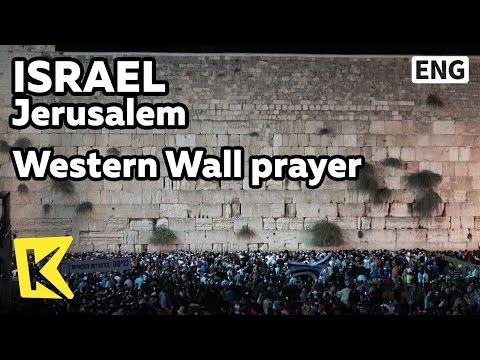 【K】Israel Travel-Jerusalem[이스라엘 여행-예루살렘]통곡의 벽/Jaffa gate/Western Wall/Pray/Dome of the Rock/Rabbi