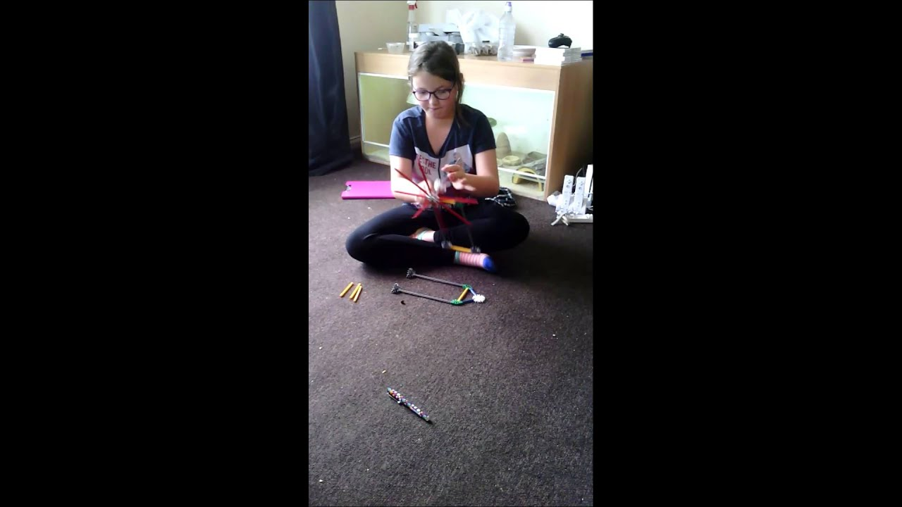 Making A Windmill With Knex