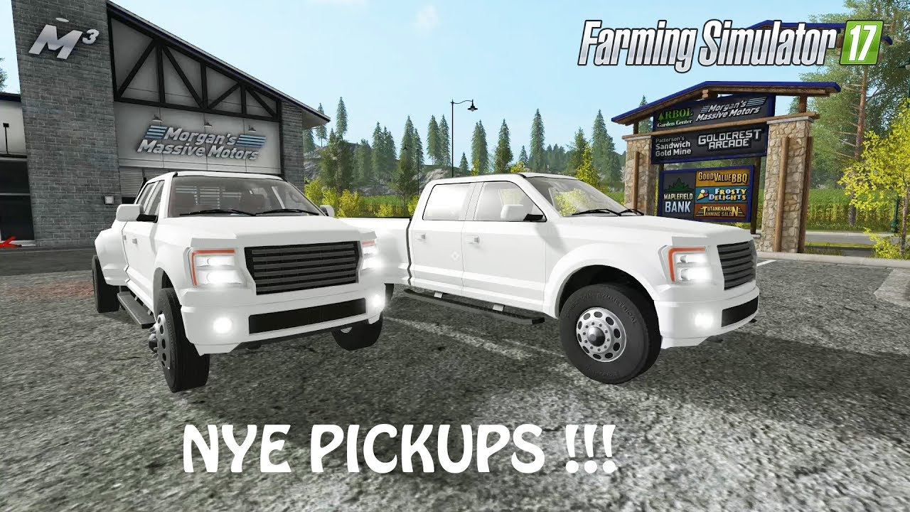 NY VOLDSOM PICKUP TRUCK MOD i Farming Simulator 2017   CHECK IT   PC   PS4    Xbox One