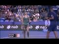 150107 Double Genie Bouchard Vasek Pospisil Serena Williams John Isner