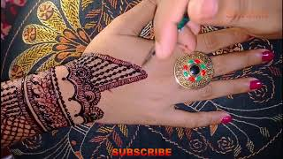 Full Upper Hand Bridal(Dulhan, Wedding) Mehndi Designs | Shimmi