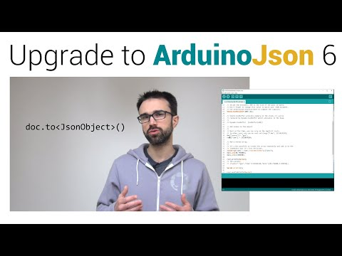 Migrating from version 5 to 6 | ArduinoJson 6