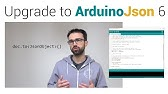 How to deserialize a JSON document with ArduinoJson 6 - YouTube