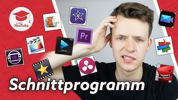 Das beste Videoschnittprogramm für YouTube! (Windows & Mac | Kostenlos & Profi) #wiegehtyoutube