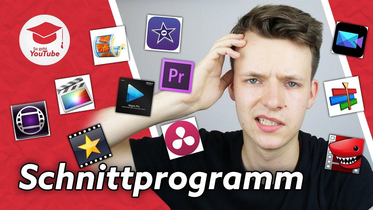 Das Beste Videoschnittprogramm Fur Youtube Windows Mac Kostenlos Profi Wiegehtyoutube Youtube