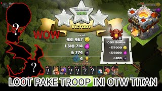 Cover images TROOP TERBAIK TH 11 || LOOT AND PUSH TROPHY||