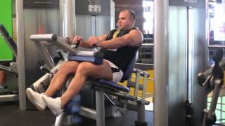 Тренировка ног и бицепса (Урок 3). Артем Иванов.