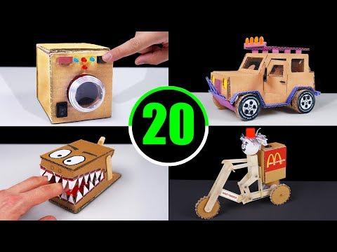 TOP 20 Incredible Cardboard Videos in The World